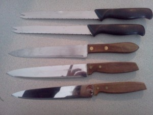 How many dull knives does a kitchen really need?